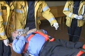Monterey County Court House, Emergency Open Heart Surgery (2005)